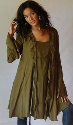 Lotustraders Jacket Top Blouse Layered Ruffled OS L-2X Olive X989S LOTUSTRADERS,http://www.amazon.com/dp/B0072VB74S/ref=cm_sw_r_pi_dp_kNlmtb13E5QPV6B6