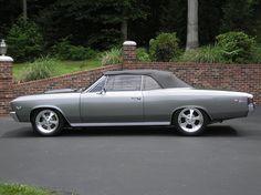 Shadow Gray Chevelles...1967 Chevrolet Chevelle SS Convertible