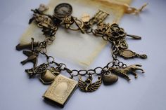 Once Upon A Time ULTIMATE Storybrooke Main Characters Bracelet. £16.00, via Etsy.