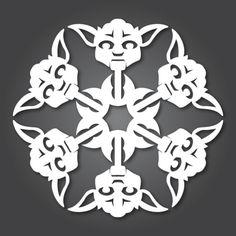 Blog_Paper_Toy_papercraft_Flocons_Star_Wars_Yoda_pic