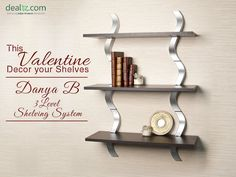 Bring some love into your living room for Valentine's Day using inspiration from these real-home mantel and shelf decorations. Visit : Dealtz.com #homedecor #shelves