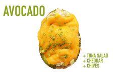 Tuna Salad + Cheddar + Chives | 17 Impossibly Satisfying Avocado Snacks