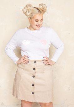 Lovestruck Tee £30.00  Plus Size Fashion ♥ | One One Three | Sizes 18-26