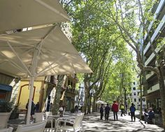 Rambla del Poble Nou, Barcelone (Espagne)