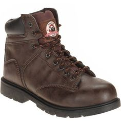 Brahma Men's Raid Steel Toe Work Boot, Size: 14, Brown