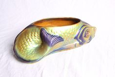 Art Nouveau, Spoon Rest, Hungary, Tableware, Fish, Free Shipping, Vintage, Ebay, Vases