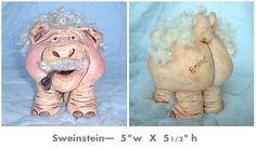 Swinestein - my friend, Cheryl, is so talented!!