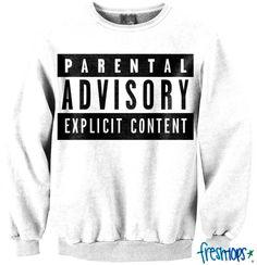 Parental Advisory Crewneck