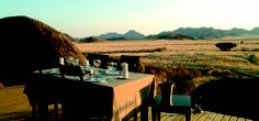 Wolwedans Boulders is an extraordinary safari camp. The amazing landscape, the magical ambiance, and the personalized service made our stay very special Dinner Table, Hotel Reviews, Luxury Travel, Bouldering, Lodges, Safari, Tourism, Camping, Deck