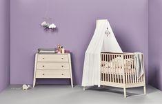 Linea by Leander Nestchen f/ür Babybett warm purple