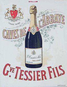 Vintage champagne poster  Blame it on the bubbly with LOKC's production of Die Fledermaus.  #flederfun #lyricoperaofkansascity