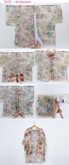 DIY | Kimono Hit do Verão • Blog da JéuBlog da Jéu