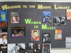 Music in our Schools & Women's History Month Combined! {UWM Music Library}