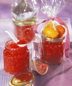 Confiture de figues, kumquats et gingembre