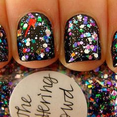 Glitter nails. #EmpireGirls #Inspiration