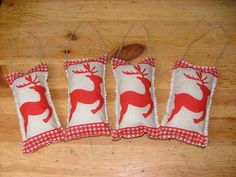 4 coussins rennes - ambiancechalet