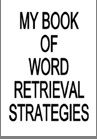 Mini books - word retrieval and others. Repinned by SOS Inc. Resources.  Follow all our boards at http://pinterest.com/sostherapy  for therapy resources.