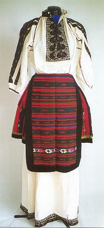 Bulgarian national costumes: Northern Bulgaria costume-Pleven region