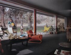 The Richard Neutra Baily House is the #20 of the Case Study House program.