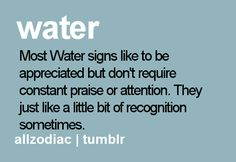 Water Signs: CANCER, SCORPIO, PISCES