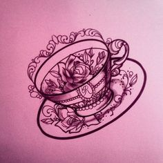 1000 ideas about teacup tattoo on pinterest tattoos cup tattoo and teapot tattoo. Black Bedroom Furniture Sets. Home Design Ideas