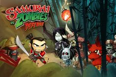 Samurai vs Zombies Defense for iPhone and iPad.Play as the heroic Samurai and defend your village against hordes of attacking zombies! Recruit allies and build defenses to stop them!