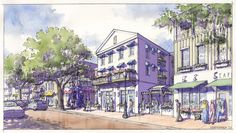 Mixed Use 'Main Street' Concept   TPUDC   Town Planning & Urban Design Collaborative