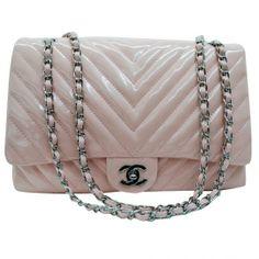 Chanel Shoulder Crossbody 1113 Silverzipper Pink