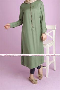 tesettür giyim tunik modelleri #moda #fashion #diy #tesettür #allday #tunik…