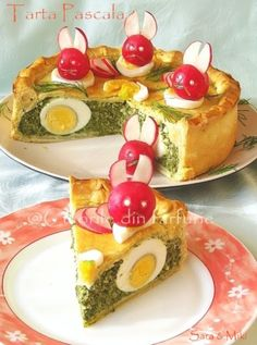 » Tarta PascalaCulorile din Farfurie Easter Recipes, Appetizer Recipes, Amazing Food Decoration, Entrée Simple, Cooking Time, Cooking Recipes, Macedonian Food, Good Food, Yummy Food
