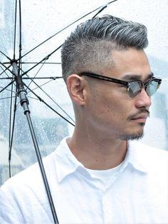 Asian Men Short Hairstyle, Older Mens Hairstyles, Haircuts For Men, Cool Hairstyles, Short Hair Cuts, Short Hair Styles, Old Man Fashion, My New Haircut, Hair Reference