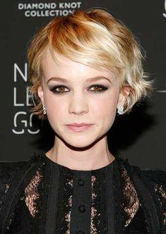 Carey Mulligan Haircut for Fine Hair