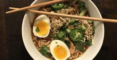 HEALTHY WEEKNIGHT COOKING—CHICKEN RAMEN BOWL