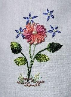 Free Designs brazilian embroidery with instructions
