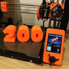 200 followers sign by 3d_diy_dave #prusamini