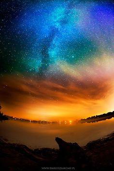 Amazing view of Milky Way