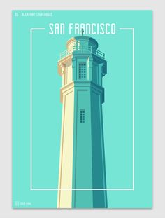 Architecture Graphic and Design Illustration Towers of San Francisco by Coen Pohl - This Designed That Building Illustration, Graphic Design Illustration, Digital Illustration, Graphic Art, Travel Posters, Cool Posters, Art Posters, City Vector, San Fransisco