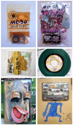 Rafael González – mail art cassettes, micro-cassettes and anti-record, Spain, 2015. Ética Makinal was a group of teenagers who experimented with music created with synthesisers. Their aesthetic was related to punk, noise and industrial movements, but they also referred to other times and forms – they researched the visual principles of avant-garde and they were influenced by Futurism, Dadaism and Constructivism.