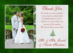 Chic Photo Card Designs Personalized Anniversary Invitations Wedding Thank You