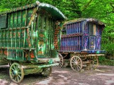 gypsy wagons