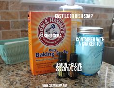 The Clean Sink award will be yours with this DIY Lemon & Clove Sink Scrub. Smells heavenly!