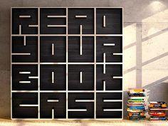 Readable Bookshelf! Doesn't get much cooler than that!