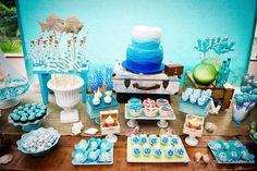 Decoração para Festa Infantil Fundo do Mar