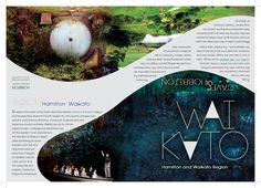 Regional Brochure- Waikato on the Behance Network