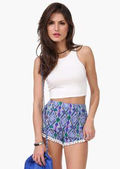 Jungle Pom Shorts   Shop for Jungle Pom Shorts Online