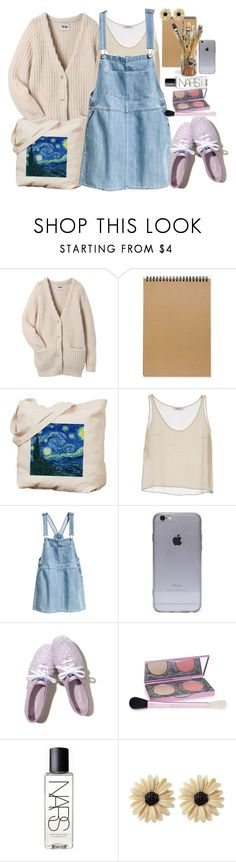 """""""Rapunzel"""" by liooo ❤ liked on Polyvore featuring Acne Studios, Muji, Valentino, H&M, Hollister Co., Henri Bendel, NARS Cosmetics and Rock 'N Rose"""