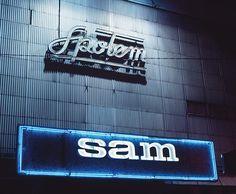 Polish Cold War Neon: Spolem Sam Supermarket