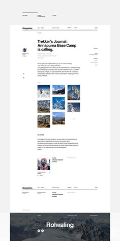 Sherpahire on Behance