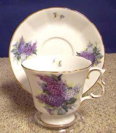 Lilac Bouquet Tudor