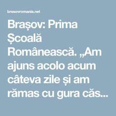 """Brașov: Prima Școală Românească. """"Am ajuns acolo acum câteva zile și am rămas cu gura căscată: 1) Nici un vizitator 2) În ultimele 20 de zile ..."""" - Brasov Romania"""